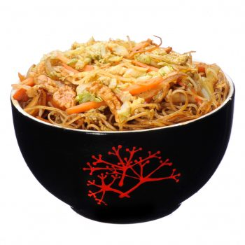 Spaghete prăjite cu pui livrare mancare chinezeasca