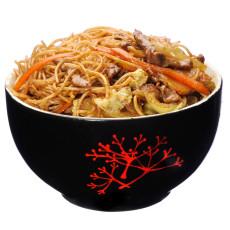 Spaghete de orez prajite cu carne de vita livrare mancare chinezeasca